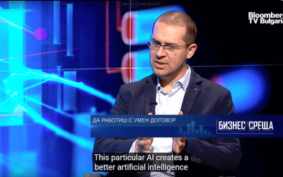 How Comrade will enable DAOs and Autonomous AI – Bloomberg TV – Interview with Todor Kolev